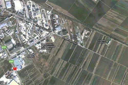 Poza marita Deva, strada Depozitelor teren de vanzare