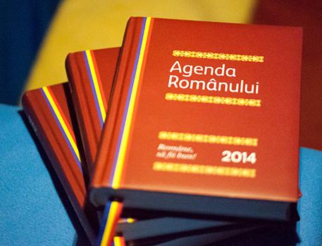 Coperta Agenda Romanului