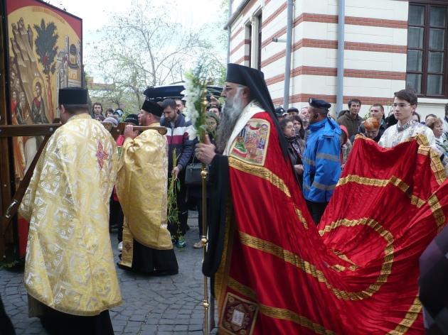 Procesiune Manastire Radu Voda - Patriarhie