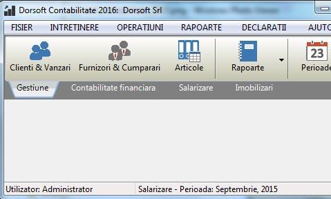 Program contabilitate firme mici si mijlocii